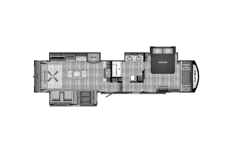 Floor plan for STOCK#3891MK